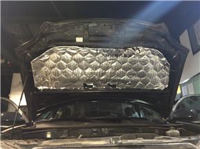 丰田汉兰达引擎盖隔热垫