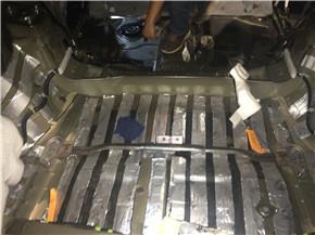 丰田汉兰达后备箱隔音减震胶